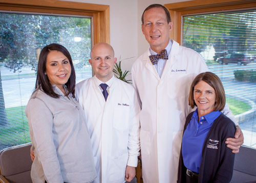bay lakes center for complex dentistry doctor lasnoski and dr halls with team